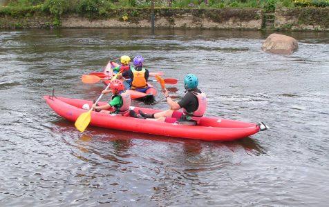 Participation aux 24h Kayak Lochrist 2008