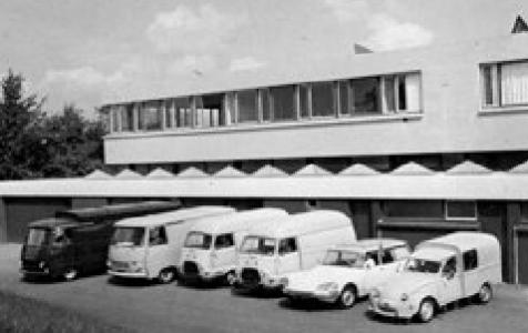 Service garage 1970