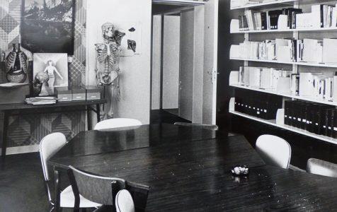 Centre de documentation infirmier - années 1970