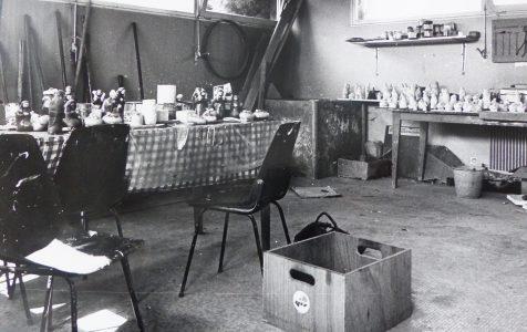 Atelier poterie années 1980