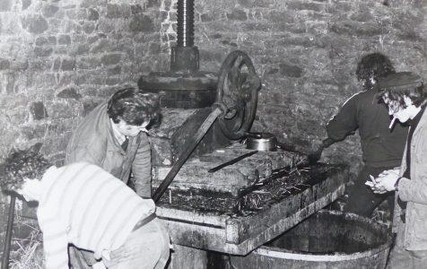 Atelier cidre années 1980